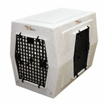 shop Ruff Tough Kennels Large Right-Side Entry Double Door Dog Crate