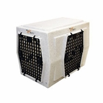 shop Ruff Tough Kennels Intermediate Right-Side Entry Double Door Dog Crate