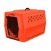 Ruff Tough Kennels Small Dog Crate Orange
