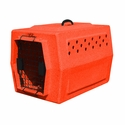 buy discount  Ruff Tough Kennels Small Dog Crate Orange