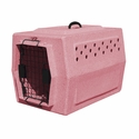 buy discount  Ruff Tough Kennels Small Dog Crate Pink
