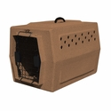 buy discount  ruff tough kennels small dog crate Tan