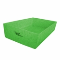 buy discount  Ruff Tough Kennels Stackable Top Tray for Dog Crates Green