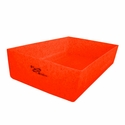 buy discount  Ruff Tough Kennels Stackable Top Tray for Dog Crates Orange