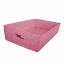 buy discount  Ruff Tough Kennels Stackable Top Tray for Dog Crates Pink
