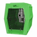 buy discount  Ruff Tough Large Double Door Crate Green