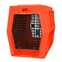 buy discount  Ruff Tough Large Double Door Crate Orange