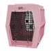 Ruff Tough Large Double Door Crate Pink