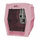buy discount  Ruff Tough Large Double Door Crate Pink