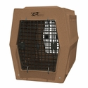 buy discount  Ruff Tough Large Double Door Crate Tan