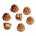 buy discount  RWS Crimped .22 cal / 6mm Copper Coated Steel Acorn Blanks -- 100 ct
