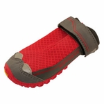 """shop SAVE 20%! -- """"Scratch & Dent"""" Red Grip Trex Dog Boots by Ruff Wear -- Individual Boot"""