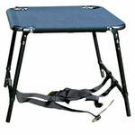 """SAVE 20%! -- """"Scratch & Dent"""" Tall Sportstand Folding Dog Stand with Black Seat"""