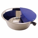shop Sir Aqua III Stainless Steel Automatic Dog Waterer by RPI -- 1.8 gal.