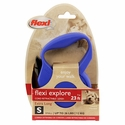 buy discount  Small Blue Retractable X-Long Leash Package