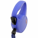 buy discount  Small Blue Retractable X-Long Leash Button Detail