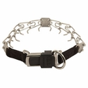 buy discount  SMALL Herm Sprenger Stainless Steel Pinch Collar with Security Buckle #50037