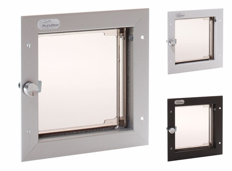 SMALL Plexidor Door Mount Dog Door