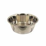 shop Small Stainless Steel Dog Bowl #8334 -- approx 56 oz.