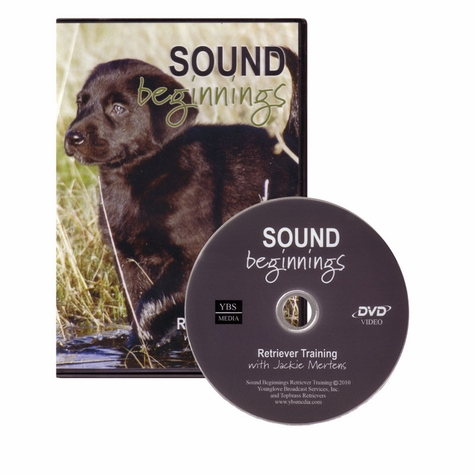 Sound Beginnings Retriever Training DVD with Jackie Mertens