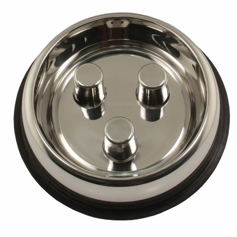 LARGE Stainless Steel Brake-Fast Bowl