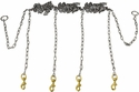 Stainless Steel Chain Gang 4-dog -- Chain Only