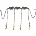 buy discount  Stainless Steel Chain Gang 4-dog -- Chain Only