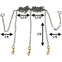 buy discount  Stainless Steel Chain Gang Measurements
