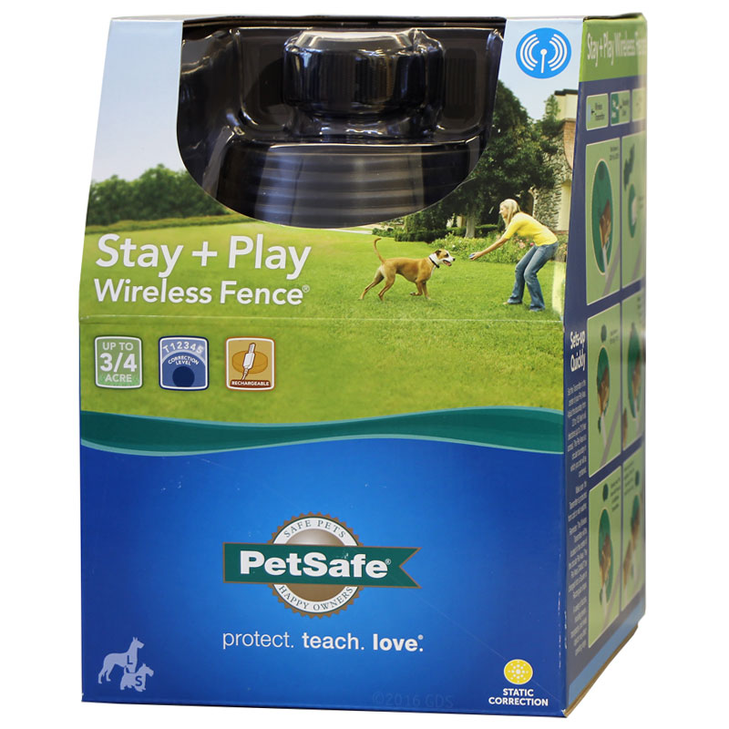 Petsafe Stay Play Wireless Rechargeable Pet Fence Pif00