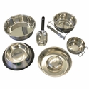 buy discount  Steel Dog Food Bowls, Water Bowls, and Food Pans