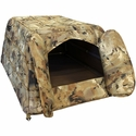 buy discount  Tanglefree Flight Series Dog Blind Flap Entry Open