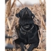 Tanglefree Flight Series Dog Blind with Black Lab