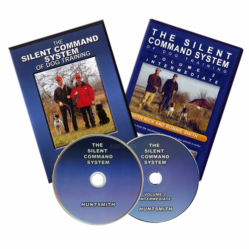 The Silent Command System of Dog Training vol. 1 and 2  DVDs with Rick & Ronnie Smith