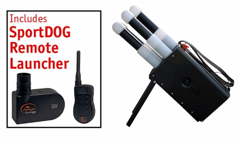 Thunder 500 Dummy Launcher with SportDOG Release