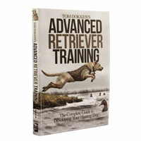 buy discount  Tom Dokken's Advanced Retriever Training Book