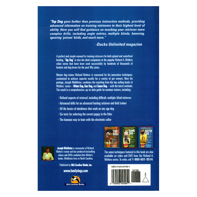 Top Dog Softcover Second Edition Back
