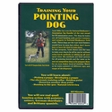 buy discount  Training Your Pointing Dog with Scott Miller Back Cover