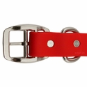 buy discount  Tufflex Red Center Ring Collar Buckle Inside Detail