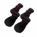 Rugged Dog Boots by Ultra Paws -- Set of 4 -- BLACK