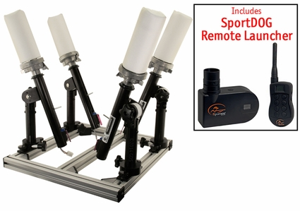 Versa Launch 4 Shot Launcher Kit with SportDOG Electronics