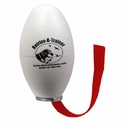 White Plastic Launcher Dummy with Tail by Retriev-R-Trainer