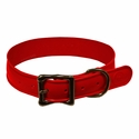 buy discount  Wig Wag Large Dog Collar Brick Red