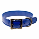 buy discount  Wig Wag Large Dog Collar Classic Blue