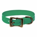 buy discount  Wig Wag Petite Dog Collar Emerald Green