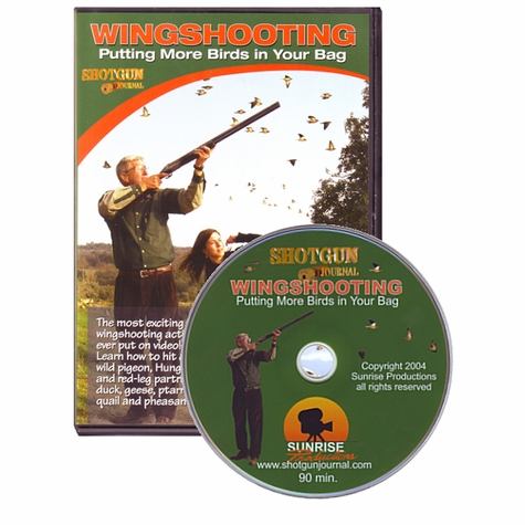 Wingshooting: Putting More Birds In Your Bag<br>with Bruce Scott and Marty Fischer DVD