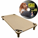 buy discount  X-Large 52 in. x 30 in. Rectangle Premium Weave Cot by 4Leggs4Pets