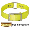 buy discount  YELLOW 1 in. Day Glow Center Ring Collar