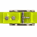 buy discount  YELLOW 1 in. Day Glow Center Ring Collar Buckle Back