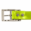buy discount  YELLOW 1 in. Day Glow Center Ring Collar Buckle Rivet