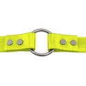 buy discount  YELLOW 1 in. Day Glow Center Ring Collar Ring Inside
